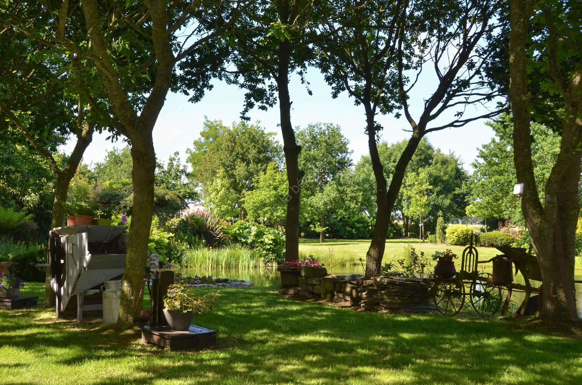 Bienvenue dans mon jardin 13 g te de la b zardais for Bienvenue dans mon jardin