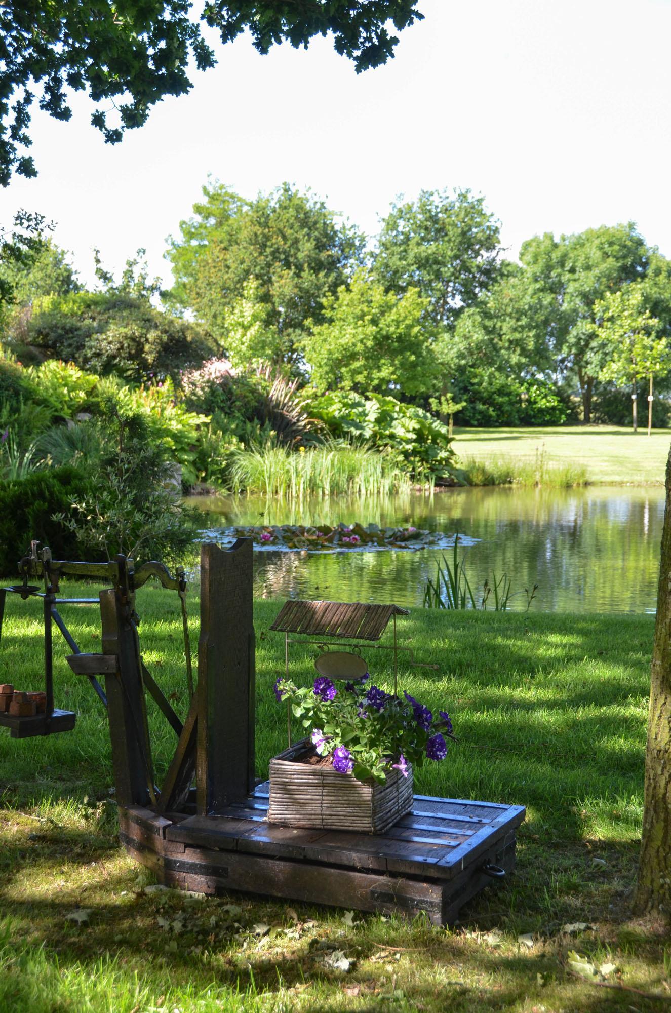 Bienvenue dans mon jardin 15 g te de la b zardais for Bienvenue dans mon jardin