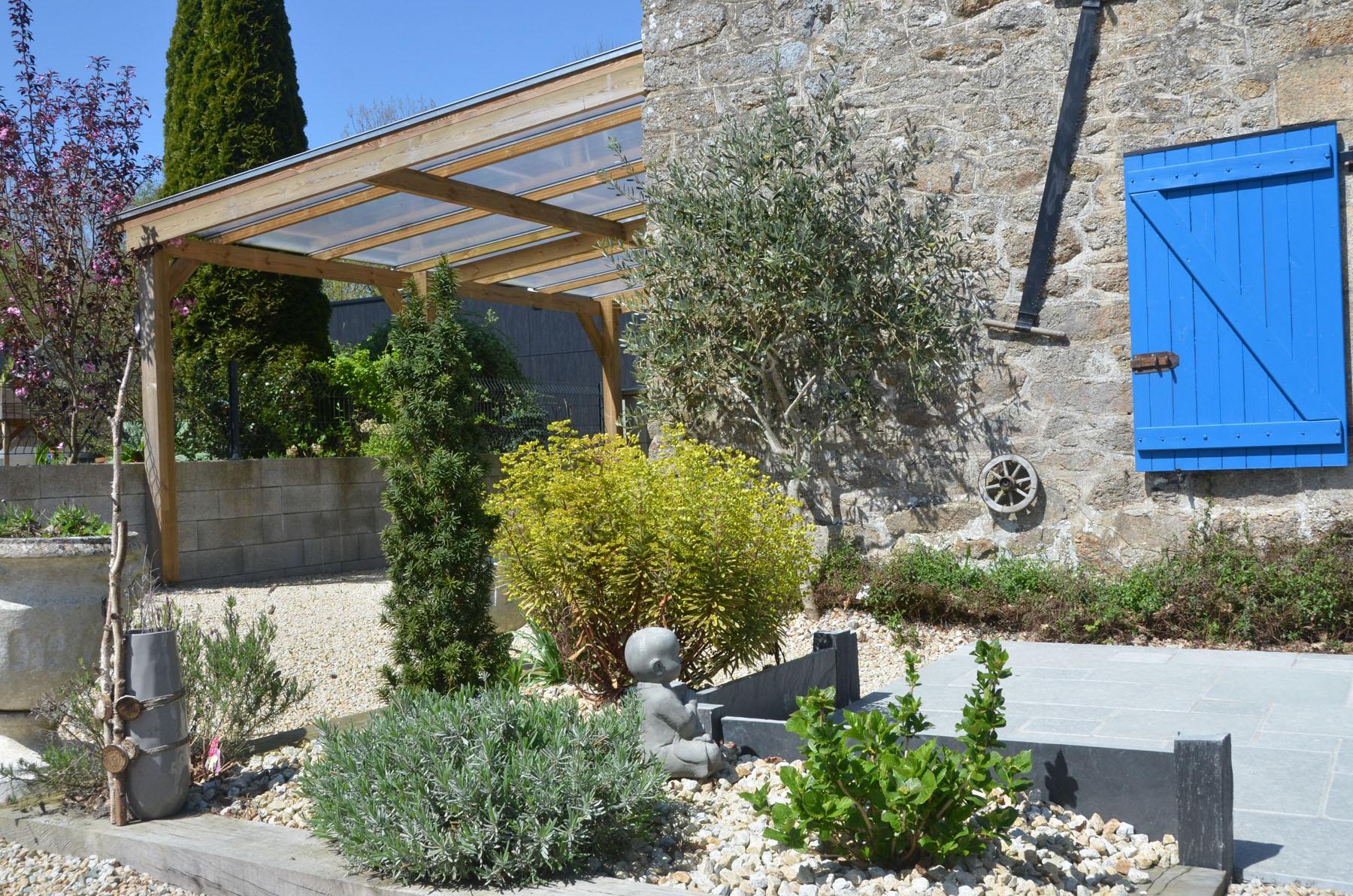 Jardin Mineral Zen Photo tour of the gîte gîte de la bézardais